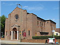 TQ2486 : St. Agnes Roman Catholic Church, Cricklewood Lane, NW2 by Mike Quinn