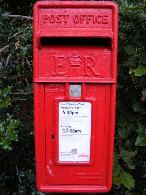 Bealings Holt Postbox