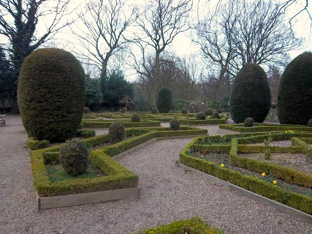 Knot Garden, rear of Oakwell Hall