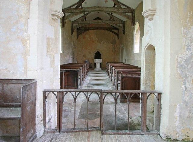 St Michael, Coston - West end