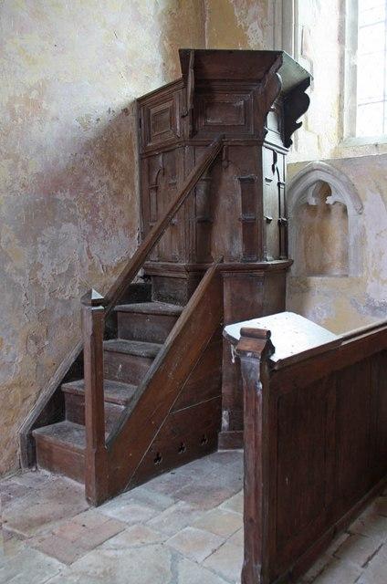 St Michael, Coston - Pulpit