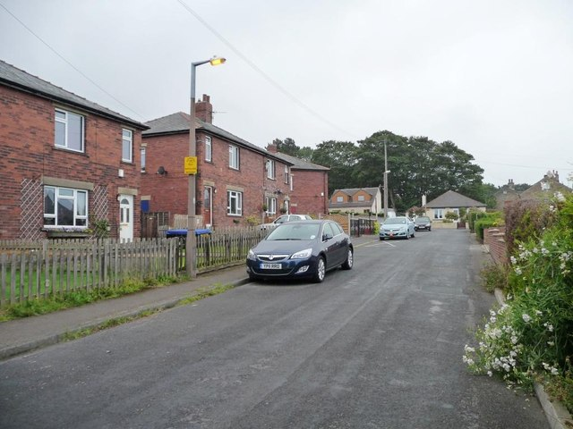 The Royds, northern end