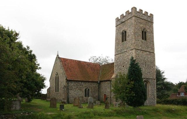 St Peter, Mattishall Burgh