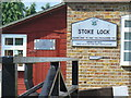TQ0051 : Stoke Lock by Colin Smith