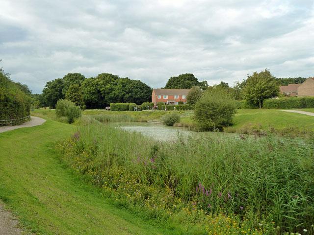 Hailsham Country Park lake
