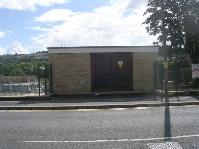 Electricity Substation No 4321 - Otley Road