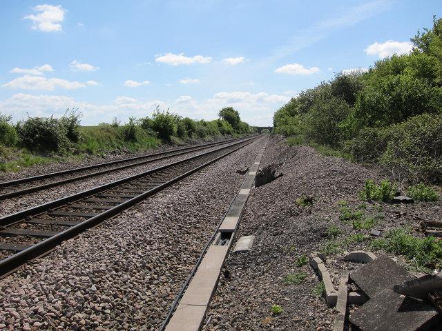 Railway to Bury St Edmunds