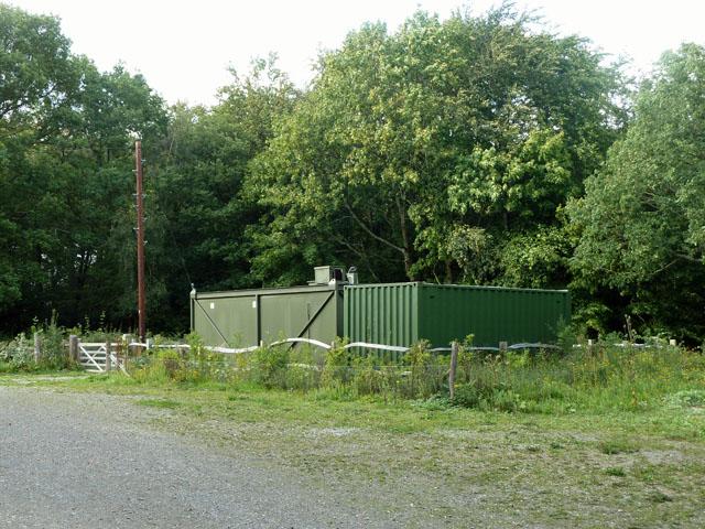 Storage units, Abbot's Wood