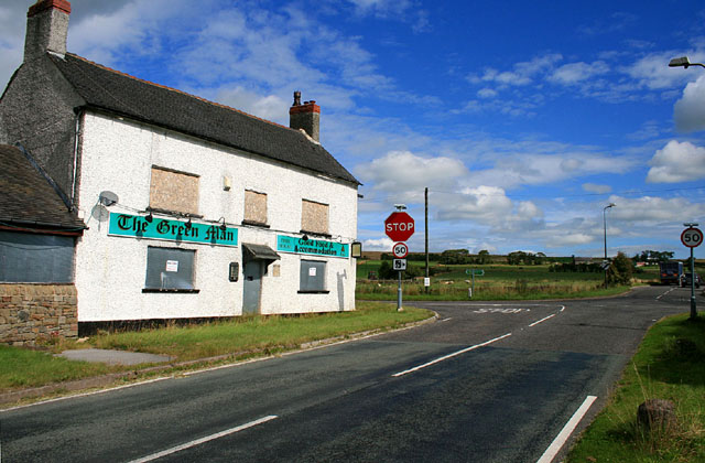 The Green Man is closed