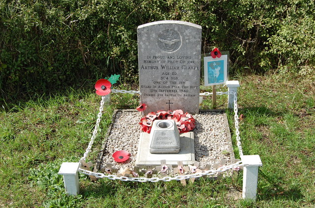 Roadside Memorial near Newchurch