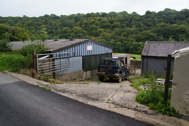 Farmyard at Ty Mawr