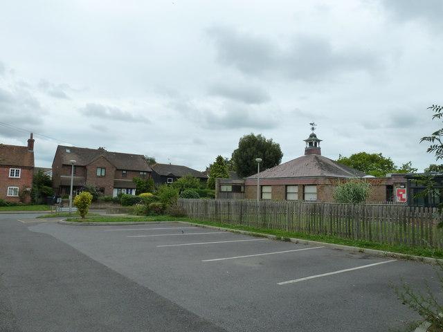 Parking spaces in School Lane