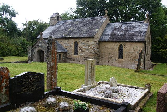 St Brynach's Church, Pontfaen