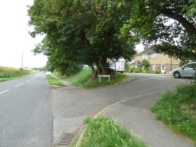 Junction of Manor Villas and Taylors Lane