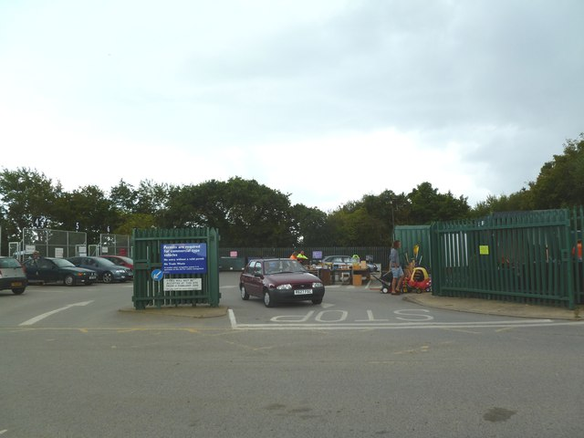 Lower Pennington, recycling centre