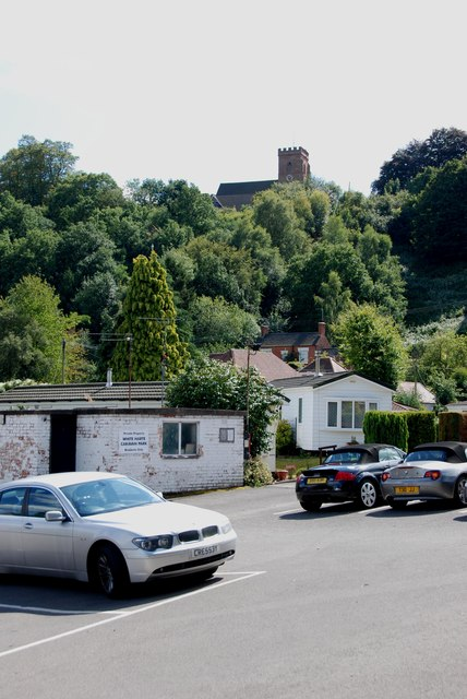 Car Park to Church, Kinver