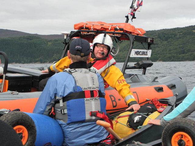 RNLI on Loch Ness
