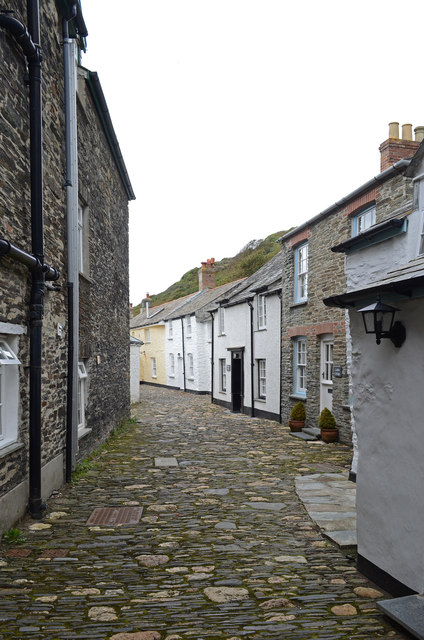Valency Row, Boscastle