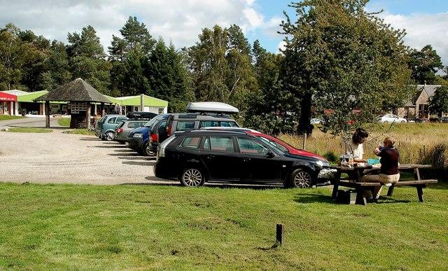 Inverdruie Car Park