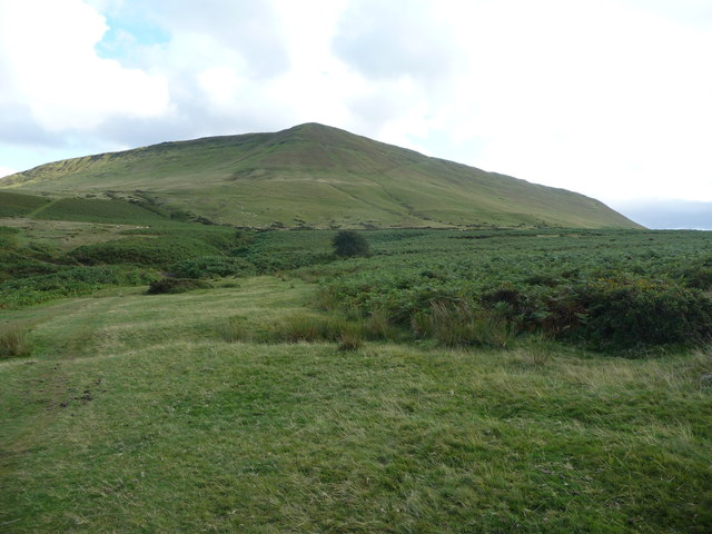 Hay Bluff from Offa's Dyke Path in August