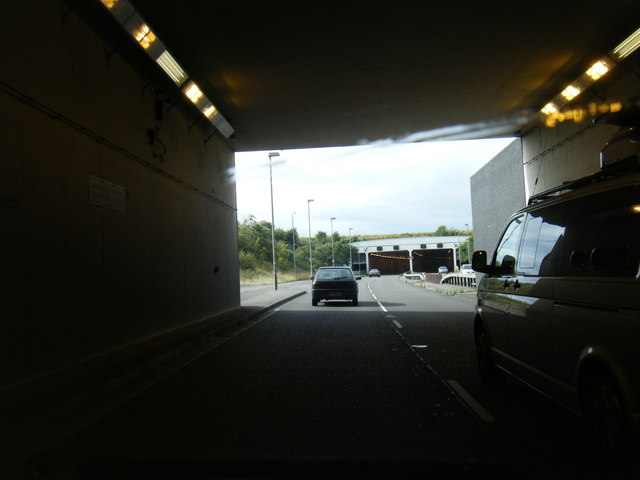 Wimslow Road Tunnels under Manchester Airport runways