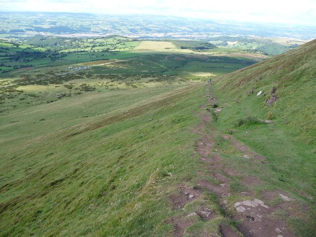 Path on Hay Bluff
