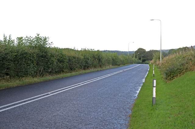 Old A30 at Crosslanes