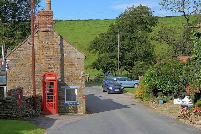 Telephone Box, Harwood Dale