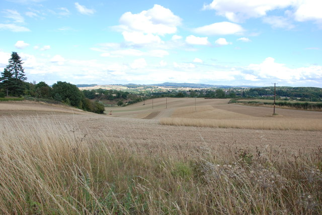 Across Grassland to the Clent Hills