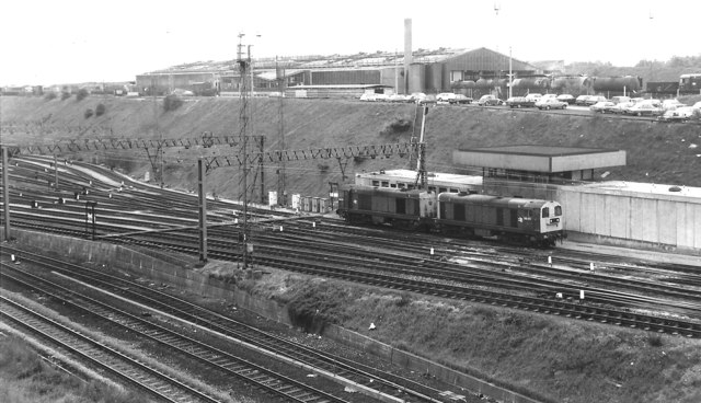 Tinsley Traction Maintenance Depot, 1981