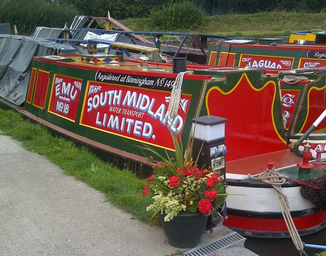 Narrowboats Marina Alvecote