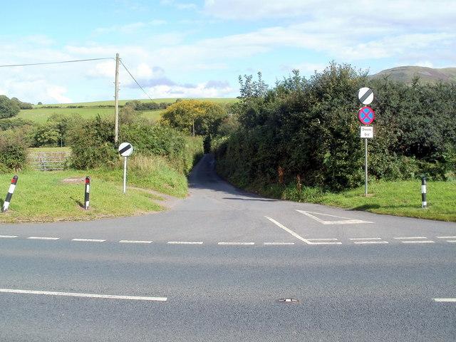 Lane to Libanus Mill