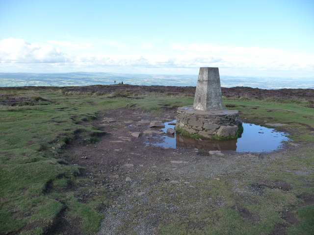Hay Bluff trig point