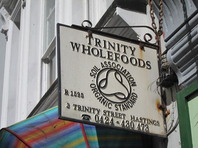 Trinity Wholefoods sign