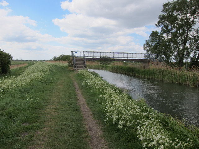 Footbridge over Burwell Lode