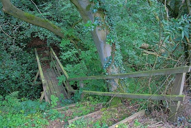 Footbridge over Thirley Beck