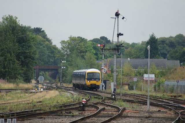 First Great Western Train at Worcester