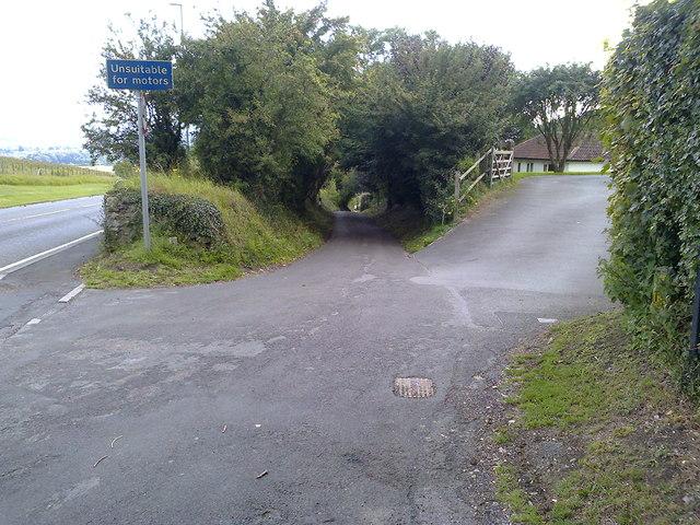 The Fosse Way at Clandown