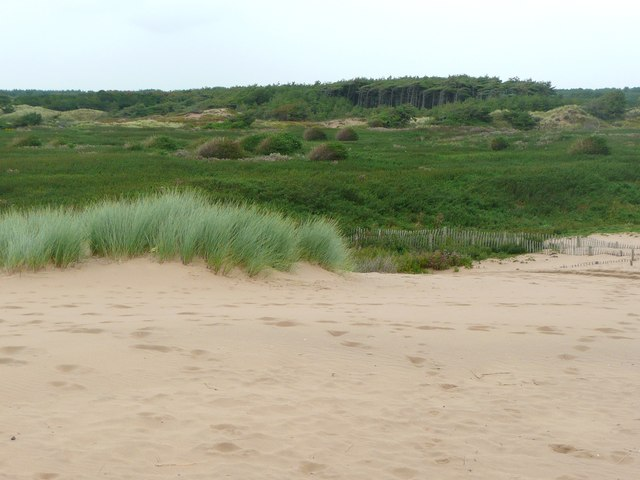 The dunes at Formby