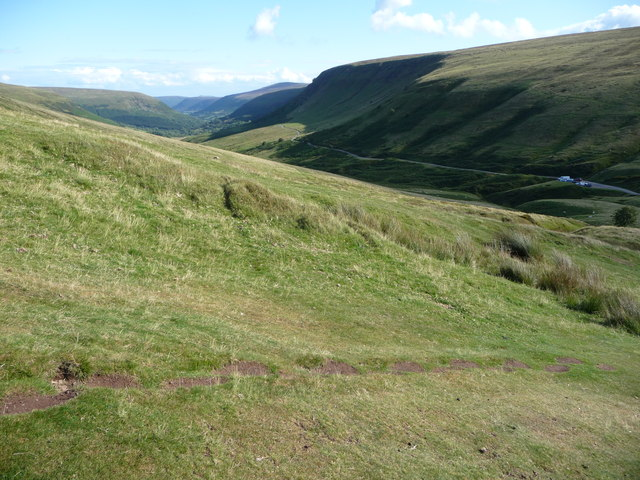 View southwards down Gospel Pass