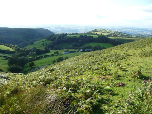 Farm below Hay Bluff in the Black Mountains