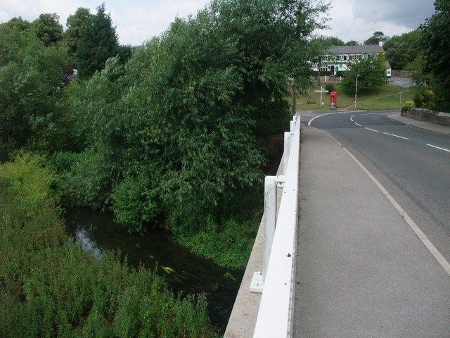 Croft Bridge, crossing the River Soar, Croft