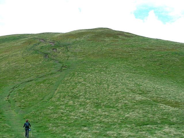 Path to the upper slopes of Turnhouse Hill, Pentlands