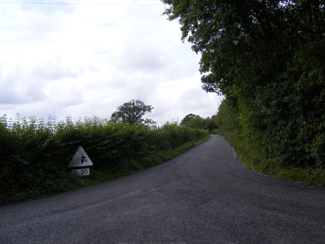 Country Road off Boulge Road