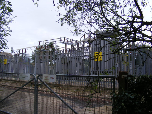 Electricity Primary Sub-Station on Manor Road