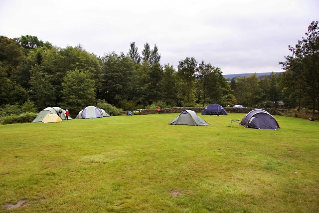 North Lees Camp Site
