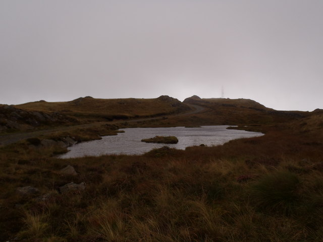 Lochan on Bennan Hill