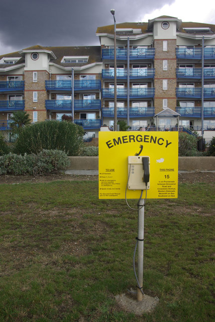 Emergency at Westcliff on Sea