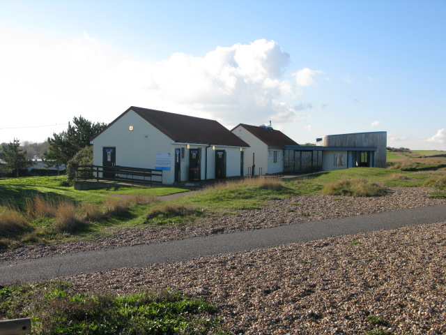 The Reculver visitor centre