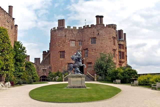 Powis Castle, Main Entrance